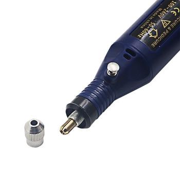 1set 6bits Power Drill Professional Electric Manicure Machine Nail Drill Pen Pedicure File Polish Shape Tool Nail Art Feet Care 1