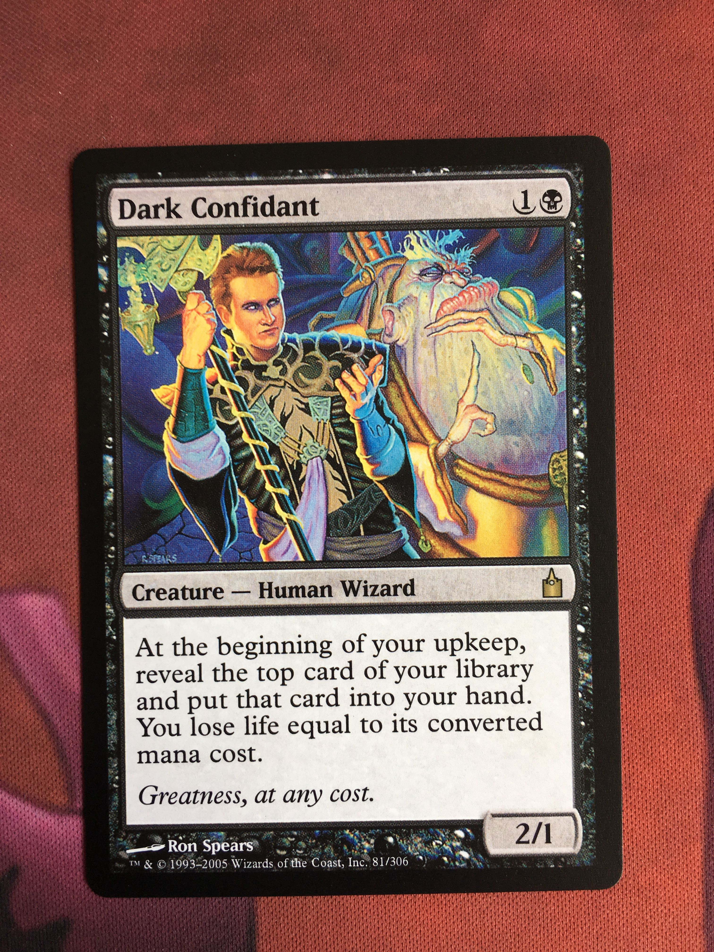 Dark Confidant Ravnica: City Of Guilds Magician ProxyKing 8.0 VIP The Proxy Cards To Gathering Every Single Mg Card.