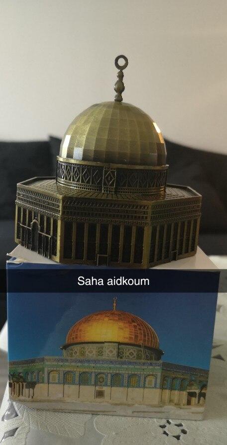 Estatuetas e miniaturas Modelo Jerusalém Cúpula