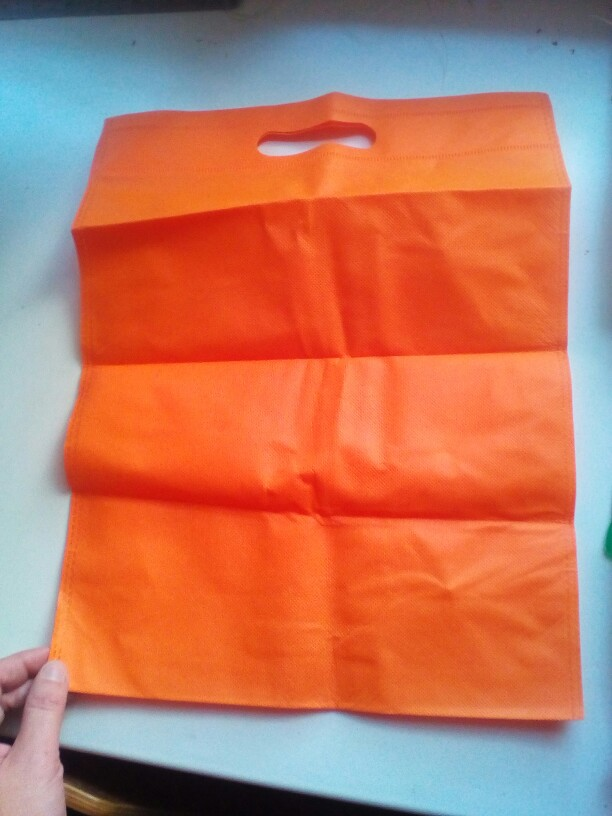 30x40cm Reusable Shopping Bag Non-Woven Fabric Bags Folding Shopping Bag photo review