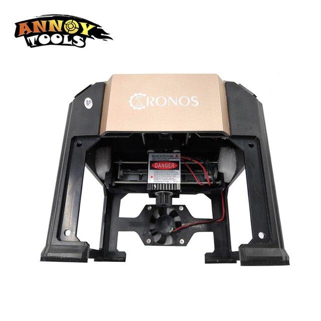 3000MW 3W CNC Router Laser Cutter DIY Print Laser Engraving Machine Mini Lettering Machine Custom Logo 80*80mm Working Area