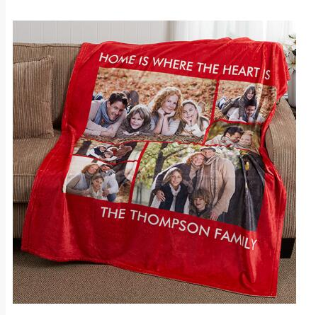 Sweet lover personalized blanket 3