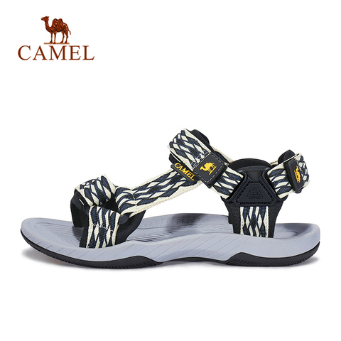 CAMEL Men Women Outdoor Beach Sandals Spring Summer Casual Anti-slip Hiking Trekking Shoes Fishing Sandals Lahore