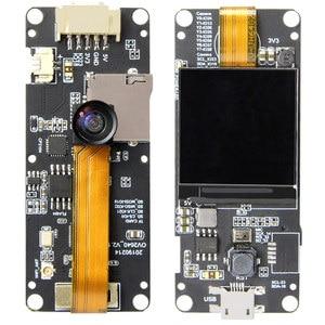 Image 2 - Lilygo®Ttgo T Camera Plus ESP32 DOWDQ6 8 Mb Spram Module Camera OV2640 Màn Hình Hiển Thị 1.3 Inch Camera Sau