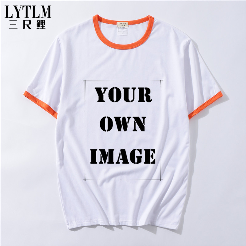 LYTLM Custom Tshirts Designs Boys Girls Men Women Custom Made for Birthday/Family Look/Kindergarten/Travel Agency/School/Club