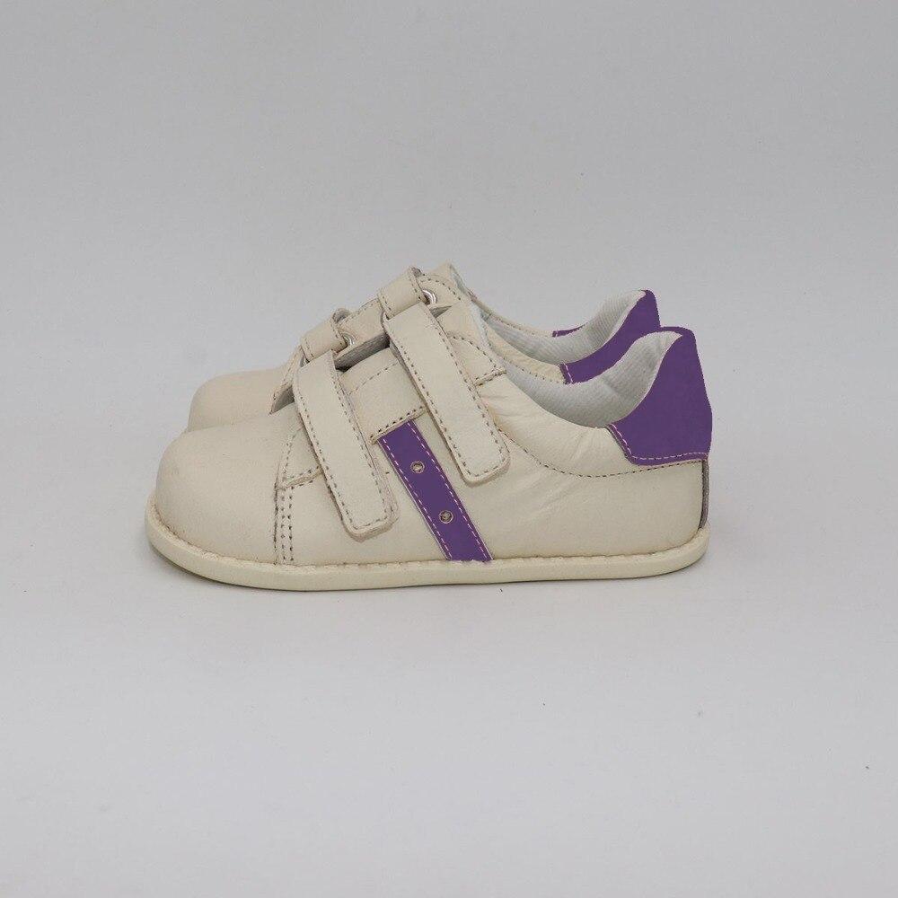 TipsieToes Marque haute qualité véritable En Cuir Couture Enfants chaussures pour enfants Pour Garçons Et Filles 2019 Printemps Nouveau Pieds Nus