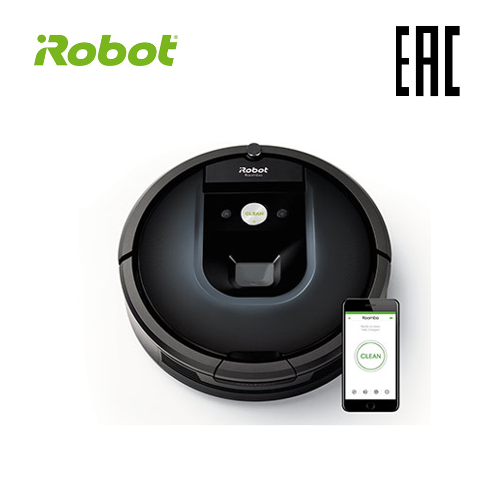 цена на iRobot Roomba 981 High Suction Electric Automatic Robot Vacuum Cleaner Sweeping Dust Sterilize APP Floor Cleaning Home Household