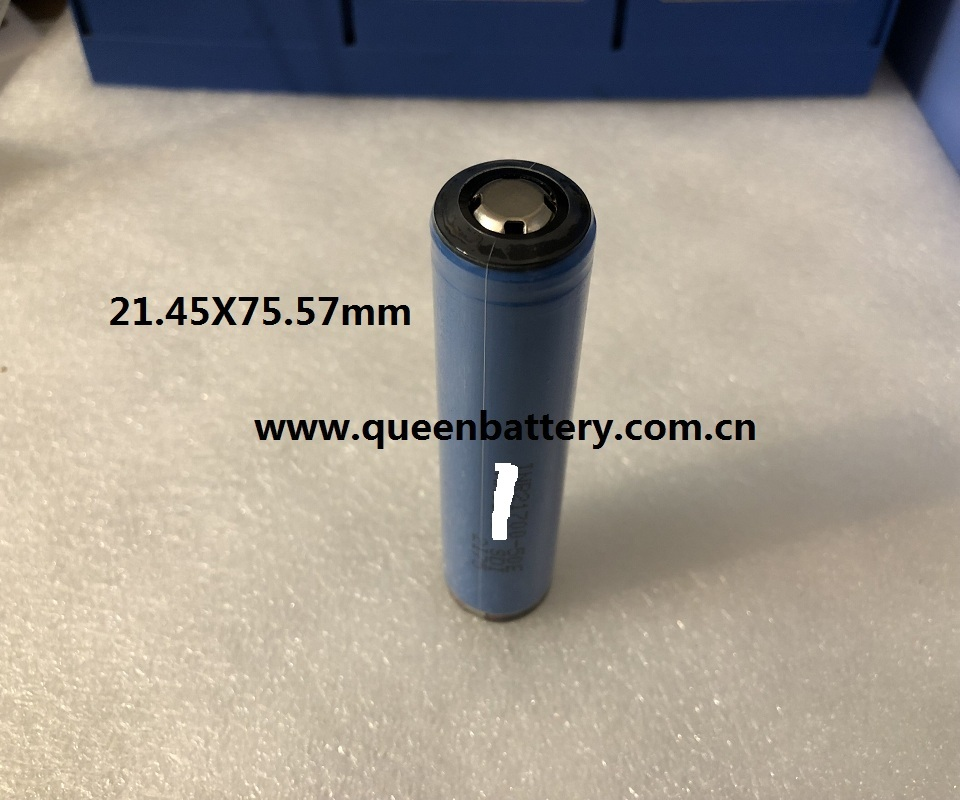 140pcs/lot Shipping Free Considerate 21700 50e Inr21700-50e 5000mah 3.7v Flashlight Battery Torch Battery Button Top Protected Protection