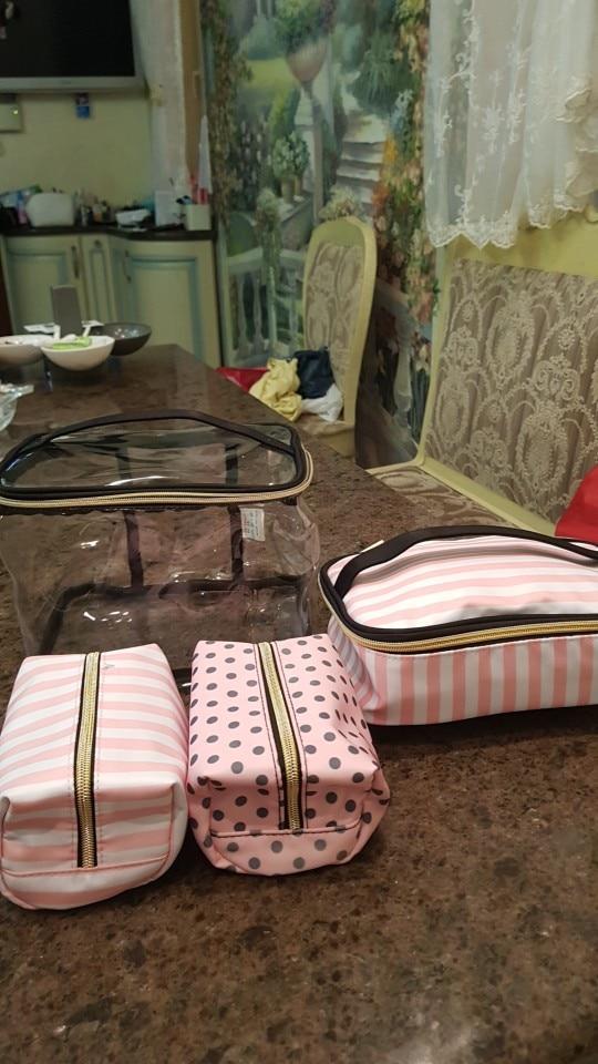 Bolsas p/ cosméticos viagem higiene maquiagem
