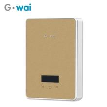 GWAI Touch Heater Frequency Conversion Instant Heating Aquecedor Kitchen Mutfak Bathroom Water Calentador 6000W High Power M12