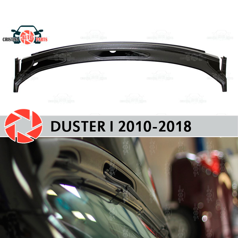 Jabot under windshield for Renault Duster 2010-2018 accessories protective cover guard under the hood protection car styling martyn wyndham under cover