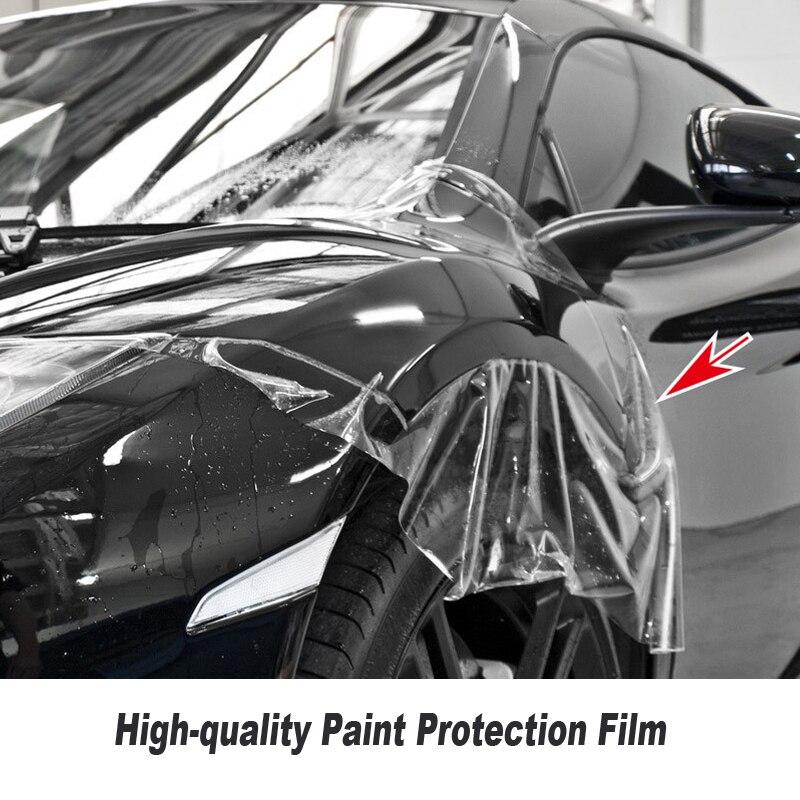 Di auto Guarigione TPH Materiale PPF Del Vinile Per Auto Pellicola di Protezione della Vernice Best Trasparente PPF DIMENSIONE: 1.52*15 m/Rotolo di serie di Alta qualità