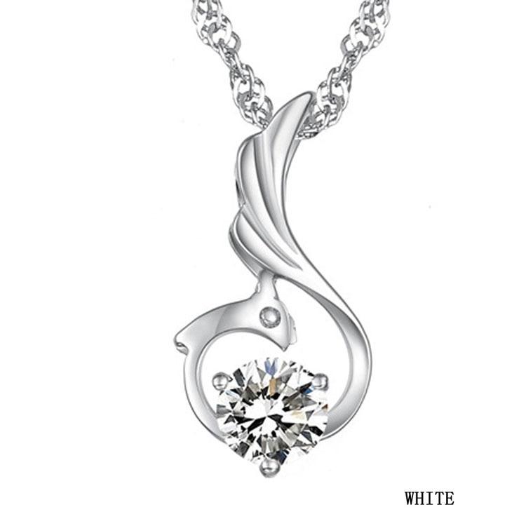 2017 Arrival Korean Style Female Favourite Romantic Elegant Phoenix Woman Pendant Necklace Charming Jewelery