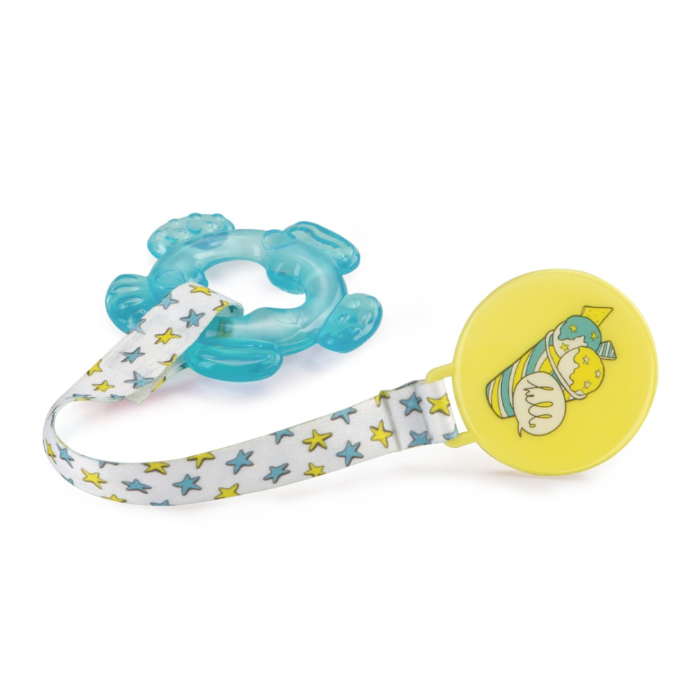 Teethers with water and holder Happy Baby 20013