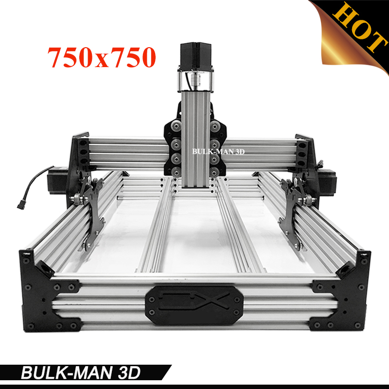 OX CNC Mechanical Kit with 4pcs Nema Stepper Motor for DIY Desktop CNC Router Wood Engraving Machine 750*750mm ox cnc mechanical kit with 4pcs nema stepper motor for diy desktop cnc router wood engrave machine 1000 1000mm