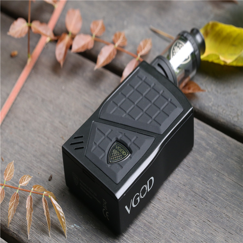 D'origine VGOD Pro 200 Boîte Mod Kit TC Vaporisateur Mod 200 w 4 ml VGOD Sous ohm Atomiseur Cigarette Électronique 0.2ohm Core Vaporisateur E Cig