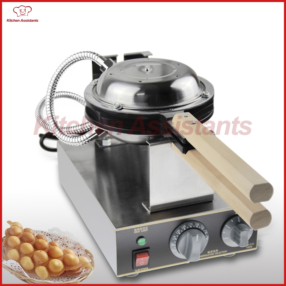 где купить FY6 Electric egg waffle maker machine 220V 1400W Stainless Steel дешево