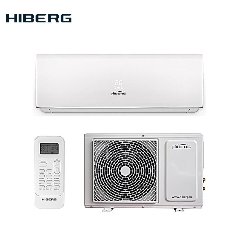 Split System HIBERG AC-09 Elite A Class Split Air Conditioner System