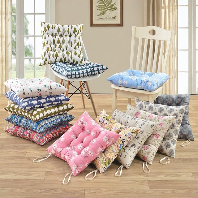 Comprar 40x40 cm sof cojines de algod n cojines de respaldo asiento cojines - Hacer cojines para sofa ...