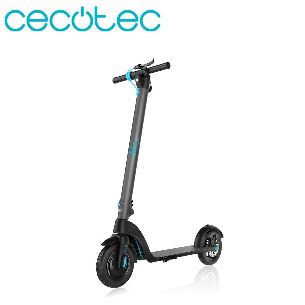 Cecotec Patinete Eléctrico Urbano para Adulto Scooters Outsider E Volution Phoenix con 3 Modos de Conducción Patinete Plegable y Ligero Poder Fuerte con Batería Extraíble e Intercambiable Panel LED tiene 2 Ruedas