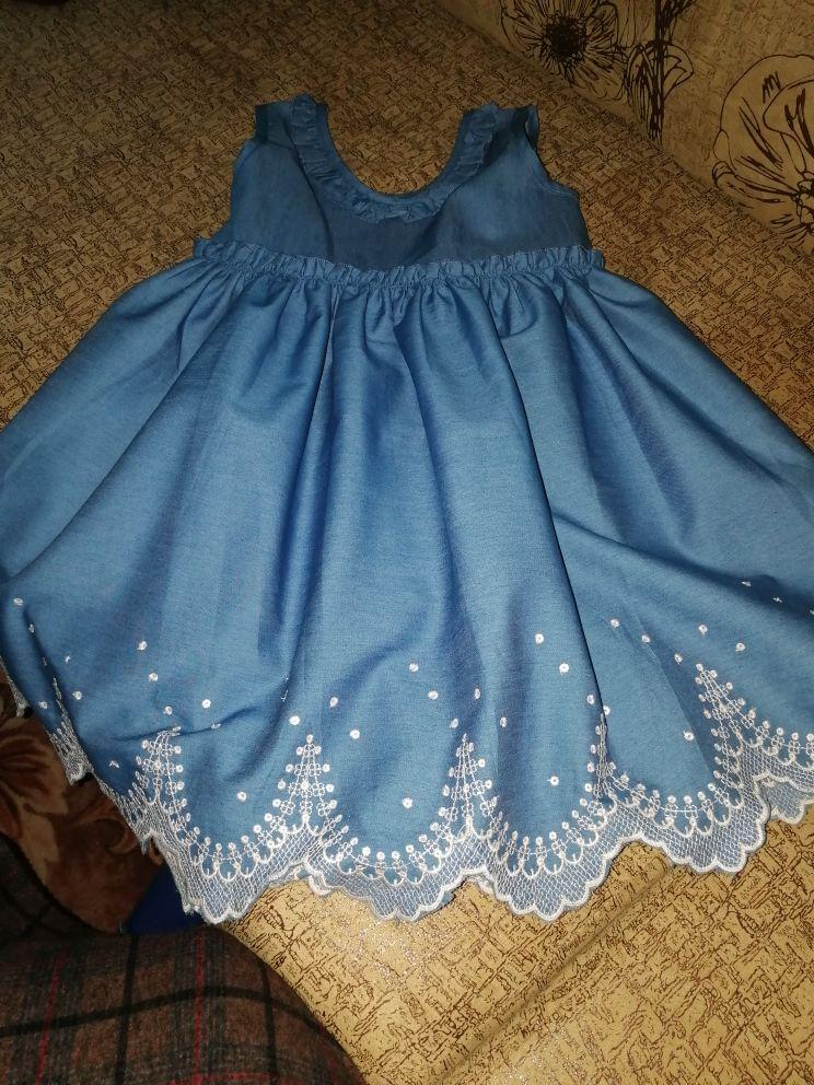 Casual Girl's Denim Dress photo review