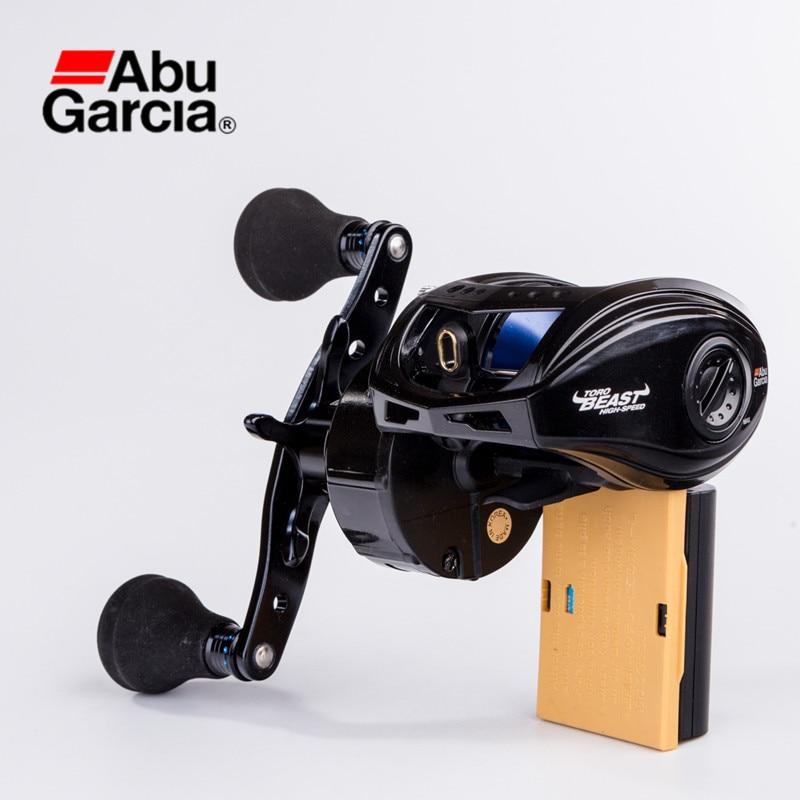 Abu Garcia REVO TORO BEAST 7+1BB 4.9:1/6.2:1 Baitcasting Reel Big Game Fishing Reel Single/Double Ball Changeable Handle Wheels feed the startup beast 7 step guide to big hai