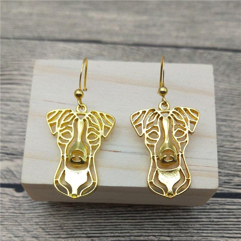 New Jack Russell Terrier Drop Earrings Trendy Style Jack Russell Dangle Earrings Fashion Pet Dog Earrings Women Jewellery