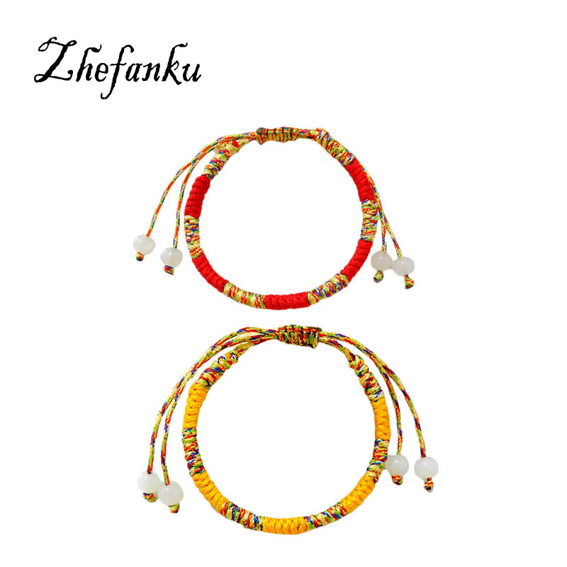 Colorful Rainbow Bohemian Brazil Cheap Handmade Weave Woven Braided Rope Thin String Strand Friendship Bracelet