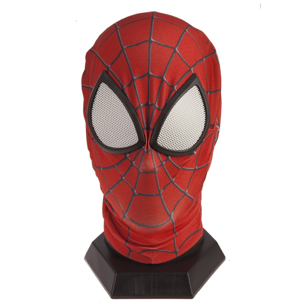 Amazing Spiderman Mask Lenses Adult Unisex Halloween Party Accessory Masque Spider-Man Cosplay Masks Drop Ship