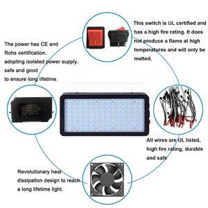 Image 4 - Phlizon LED לגדול אור 600 W 900 W 1200 W ספקטרום מלא כפול מתג לחממה הידרופוני צמחים מקורה וועג ופרח