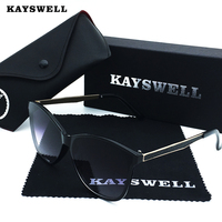 KAYSWELL Sunglasses Women Brand Design V400 Fashion Sunglasses Outdoor Eyewear With Boxes D1735