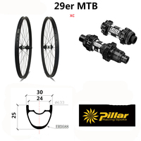 30*25 углеродное волокно горный велосипед колесная 29 дюймов горный велосипед колеса углерода toray T800 колеса велосипеда 27,5 матовая или глянцева