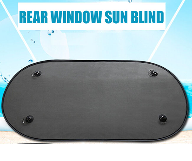 superb quality 1pc car rear window sun shades sunshade front back window cover mesh visor shield