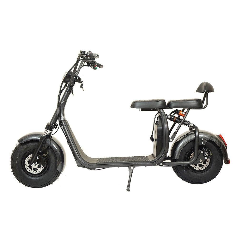 Ville Coco Harley voiture électrique Scooter Samokat adulte 60 V 1500 W forte ville puissante pour travailler shopping vélo électrique