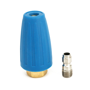 """Image 5 - 4000PSI 1/4"""" Quick Connect High Pressure Washer Rotating Spray Turbo Nozzle Tip Ideal"""