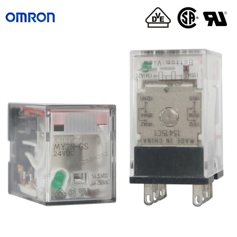 Omron My2n 24vdc Relay Wiring Diagram