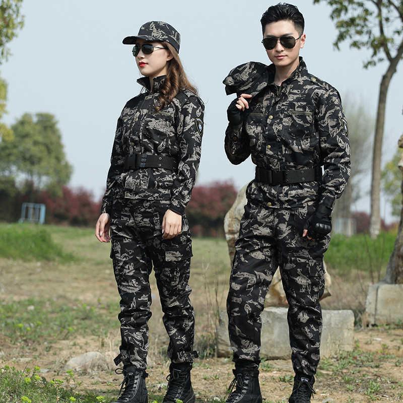 Militair Uniform Mannen Black Hawk Combat Jacht Kleding Tactische Leger Kleding Vrouwen Camouflage Multicam Uniform Airsoft Game