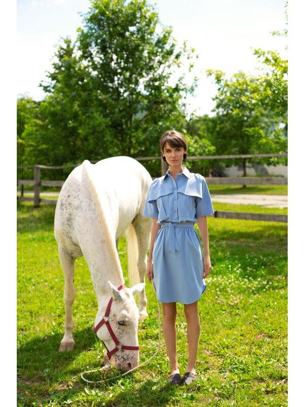 Dress boots. Color blue. dress color sky blue