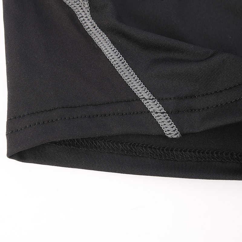 FANNAI Men Compression Shorts Running Shorts Sport Skinny Gym Fitness Short Pants Training Sports Shorts Slim Jogger