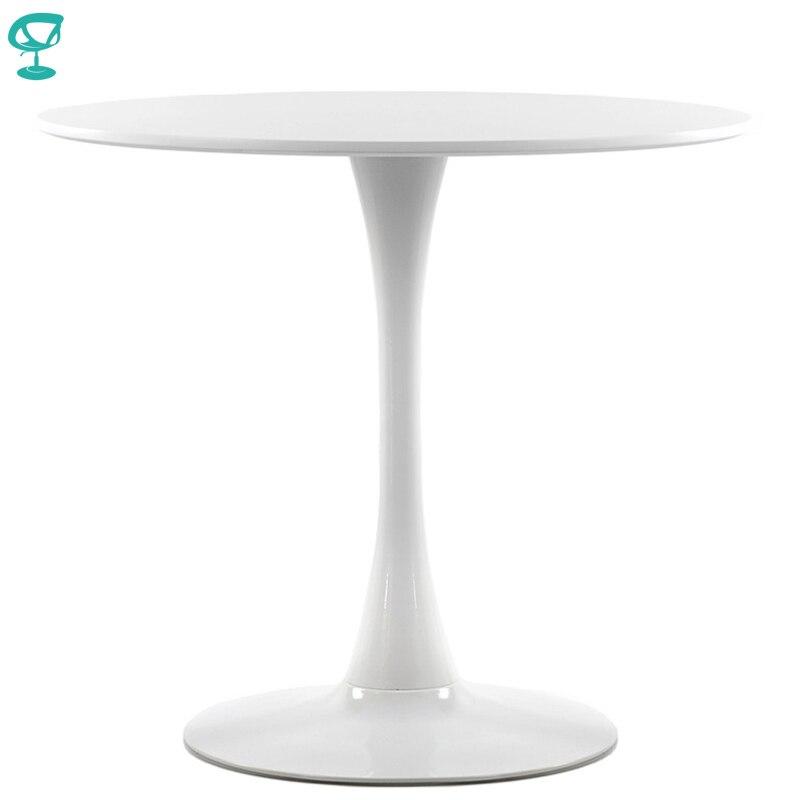 95251 Barneo T-3 en plastique haut petit déjeuner intérieur Table Bar Table meubles de cuisine Table à manger blanc livraison gratuite en russie
