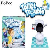 [FoPcc] צעצועי בדיחות שובבות צעצוע חידוש ילדי צעצועי Gag מצחיק צעצוע לחץ אנטי תרסיס מים אסלה מתנות