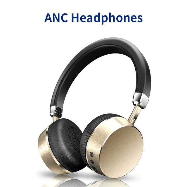 44082e186a1 Meidong E6 Active Noise Cancelling Bluetooth Headphones Wireless Headset  with Microphone for Phone Bluetooth earphone headphone