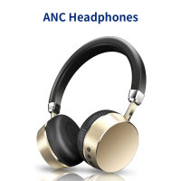 Meidong E6 Active Noise Cancelling Bluetooth Headphones Wireless Headset with Microphone for Phone Bluetooth earphone headphone