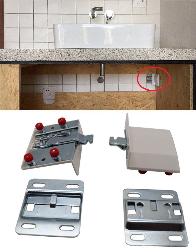 240kg Heavy Duty Wall Hanged Furniture Bath Cabinet Cupboards Hanging Bracket Hanger Brackets Aliexpress