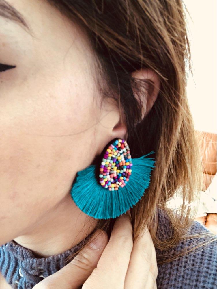 Boucles d'oreilles Zulu photo review
