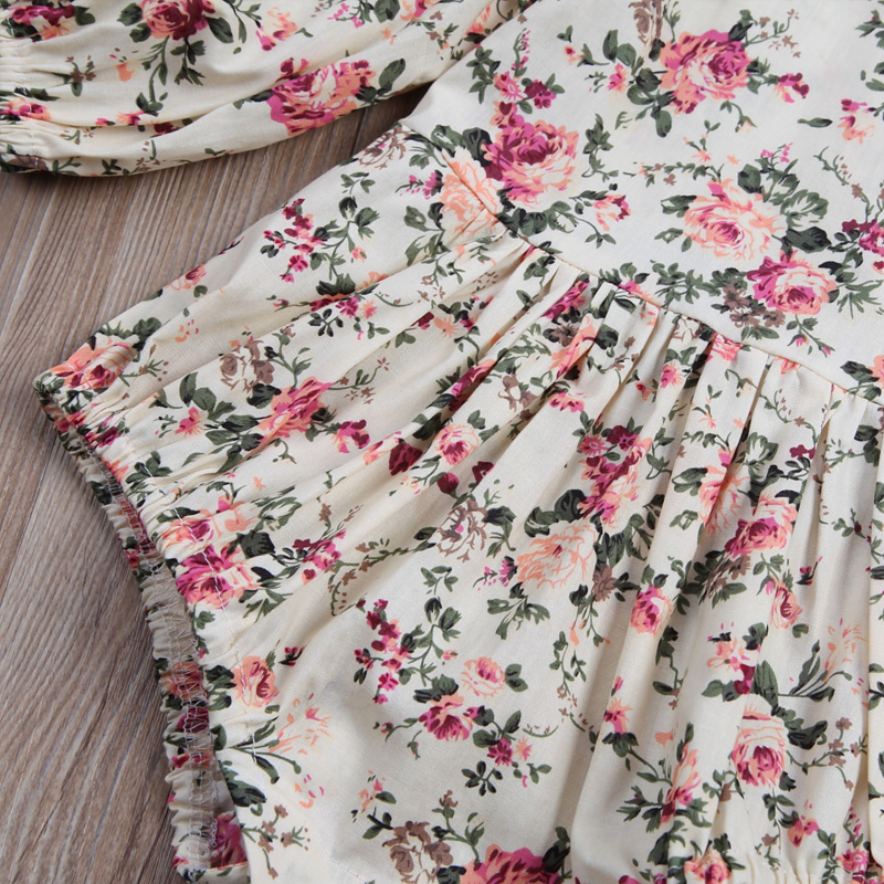 UTB8.si2bevJXKJkSajhq6A7aFXaF Newborn Toddler Baby Girls Ruffles Floral Romper Jumpsuit Outfits Clothes