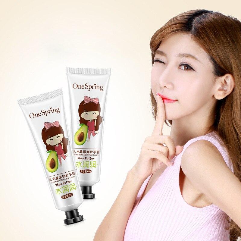 One Spring Strawberry Anti Aging Hand Lotion Hand Cream Repair Whitening Cream Nourishing Ageless Anti Chapping Hand Care
