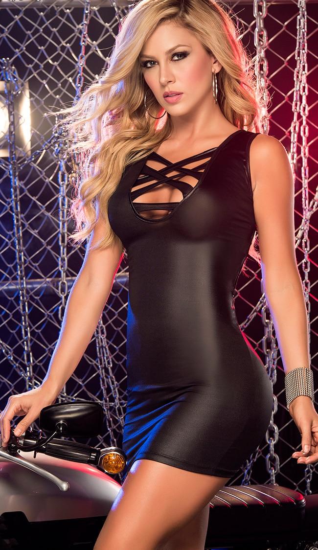 секс в клубном платье - 12
