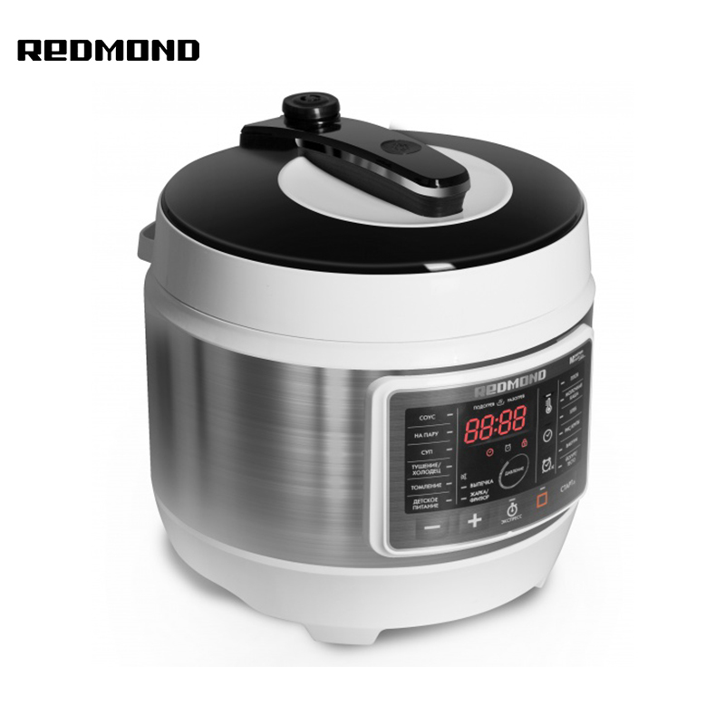 Multicore pressure cooker Redmond RMC-PM503 rice cooking porridge soup stewing multicooking zipper performance enhancement in multicore processors