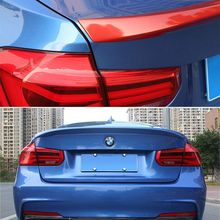 For BMW F30 color Spoiler High Quality ABS Material M3 320i 320li 325li 328i